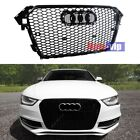 FOR+2012+2013+2014+2015+AUDi+A4+B9+GLOSS+BLACK+RS4+TYPE+MESH+SPORT+GRILLE+B8%2E5