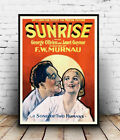 Sunrise : Vintage Movie advert, poster, Wall art, poster, reproduction.