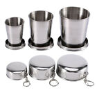 Внешний вид - Stainless Steel Portable Outdoor Travel Folding Collapsible Cup Telescopic HG