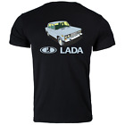 Lada Riva Unforgettable Russian Car Auto Classic Retro Printed T Shirt Tee