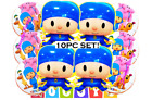 Pocoyo Foil Birthday Balloons Party Balloon Decoration Supply Baby Shower Favors