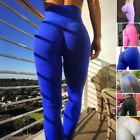 Women Ladies Yoga Leggings Trousers Close-fitting Sexy Gym Sports Workout Pants