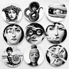 "Italy Style Design Chinese Fornasetti Plate Decorative Hanging 8"" Dishes"