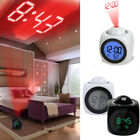 Multi-function Digital Voice Talking LCD Alarm Clock LED Projection Temperature