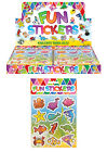 CHILDRENS SEALIFE STICKER SHEETS PARTY BAG FILLERS FAVOURS BOYS GIRLS STICKERS