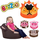 Character Bean bag Childrens seat Lion Pig Monkey Cow Kids Arm Chair Style
