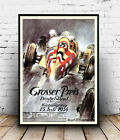 Grosser Preis : Vintage Motor racing Ad , poster, Wall art, poster, reproduction