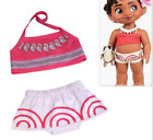 Внешний вид - US STOCK  Girls Toddlers Moana Swimsuit Swimwear 2pc Set Bathing suit Bikini O45