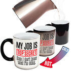 Funny Mugs - My Job Is Top Secret - Work Job Gift Present Magic NOVELTY MUG