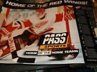 Vintage HOCKEY Poster DETROIT RED WINGS 1996-97/Action Photo of Goalie/PASSsport