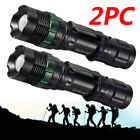 2Lot 15000LM Garberiel T6 Super Bright Rechargeable LED  Flashlight Torch Lamp