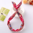 Summer Womens Headband Cute Bowknot Hair Bands Wrap Fabric Headwrap Accessories