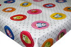 Circular Owls Spotted PVC Tablecloth Vinyl Oilcloth Kitchen Dining Table