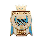Manchester City Champions of England 2018 Pin Badge & Medals Selection