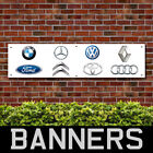 BMW Ford Mercedes Audi PVC Banner Garage Showroom Advertising Signs (BANPN00211)