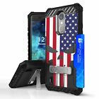 For LG Aristo 3,2 Plus,Fortune 2,Tribute Dynasty Tri Shield Armor Case Punisher