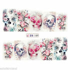 Lavender Nail Art Water Decals Transfer Stickers Spring Design Nails Decoration