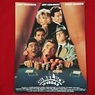 tb Dumb Luck in Vegas Vintage Movie Promo Ad Flyer Pinup Poster Joey Travolta