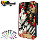 Star Wars Join The Empire Army - LEATHER FLIP WALLET PHONE CASE COVER + STYLUS