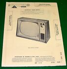 SERVICE Manual 1959 Photofact RCA 210KA466 210T195 240K497 KC127A KCS127MX TV