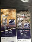 2018 Colorado Rockies Unused Commemorative Season Ticket Stub Coors Field SSH