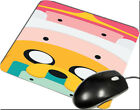 Adventure Time Cute Finn Jake Face Inspirated Gamming Mouse Mats Lex39 Mouse Pad