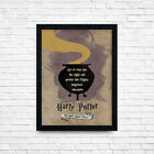 Harry Potter Posters Wall Art Quote Prints, Christmas Gifts, A3 A4 Size + Frames