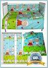 GREEN SHEEP Baby Nursery Bedding Set for Cot/Cot Bed/Toddler 2 3 4 5 6 pieces