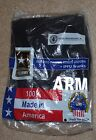 US ARMY ISSUE IPFU PHYSICAL FITNESS PT BLACK SHORT PANTS