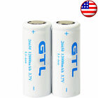 2/4/6/8/10x 26650 12000mAh 3.7V Rechargeable Li-ion Flashlight Torch Battery LOT