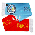 Manchester City v Liverpool League Match Day Scarf Selection 2017-18 Champions