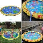 Swimming Pool Baby Water Spray Mat Wading Kiddie Squirt Fun Outdoor Splash