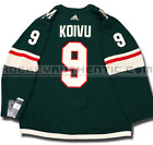 MIKKO KOIVU MINNESOTA WILD HOME AUTHENTIC PRO ADIDAS NHL JERSEY