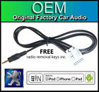 Peugeot 807 AUX lead, Peugeot RD4 car stereo AUX in cable iPod iPhone Android