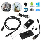 6LED WIFI Endoscope Wireless Borescope Inspection Camera For Android iPhone Ipad