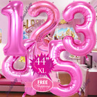 "Внешний вид - 30"" 40"" NUMBER party FOIL LOL SURPRISE BALLOON PINK ROSE GOLD BIRTHDAY DOLL"