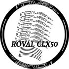 Carbon Road bike Wheel set Stickers for Specialized ROVAl Rapide CLX 50 decals