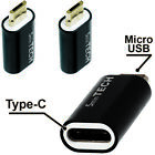 Adapter - USB  ( Micro USB Male to Type C Female) Converter Connector -b730
