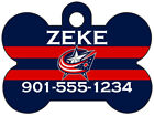 Columbus Blue Jackets Custom Pet Id Dog Tag Personalized w/ Name $9.87 USD on eBay