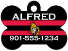 Ottawa Senators Custom Pet Id Dog Tag Personalized w/ Name & Number $11.67 USD on eBay