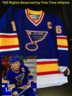 NEW Brett Hull St Louis Blues Mens 1992 1994 Home CCM Vintage Jersey