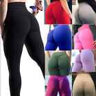 Sexy Womens Butt Lift Yoga Pants Hip Push Up Leggings Exercise Sports Stretch