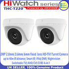 2MP CCTV HD1080p AHD HD-TVI 2MP 2.8mm len 40m IR Turret Camera HIKVISION HIWATCH