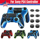 Grip Cover Case For PlayStation 4 PS4 Controller Camouflage Silicone Rubber Skin