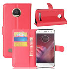 Case PU Leather Flip Stand Slots Wallet Cover Pouch For Motorola Moto Phone 38
