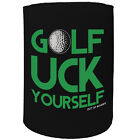 Stubby Holder - Golf Uck Yourself - Funny Novelty Christmas Gift Joke Beer Can