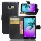 Case PU Leather Flip Stand Slot Wallet Cover Pouch For Samsung Galaxy Phone 38D