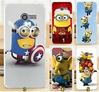 Cover Case in plastic cartoons minions for Asus Zenfone 4 A400CG 4.0""