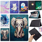 For iPad Mini 1 2 3/Air/9.7 2018 2017 Cute Smart Leather Wallet Stand Case Cover