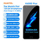 "5.5"" OUKITEL K6000 Advantage 6080mAh 4G Smartphone Android 7.0 8Core 4+64GB Unlocked"